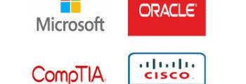 Microsoft, Oracle, Cisco